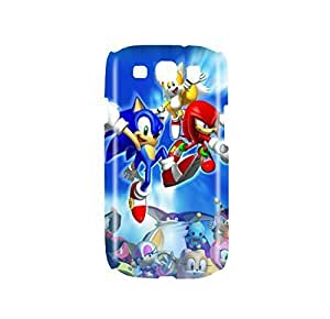 Sonic the Hedgehog Game Snap on Plastic Case Cover Compatible with Samsung Galaxy S3 GS3 by mcsharks