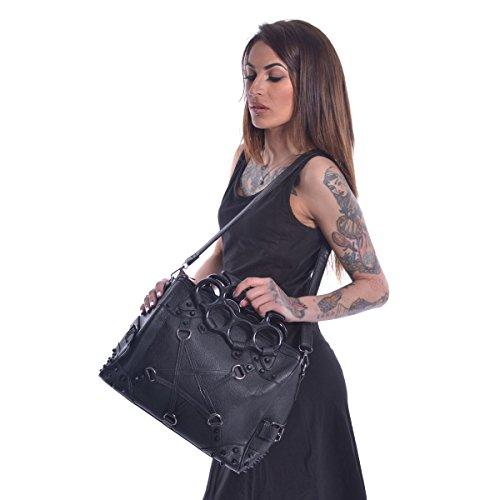 Punk Gothic Vixxsin Leather Pentagram Pentacult Vegan Bag Gothic twHyCS