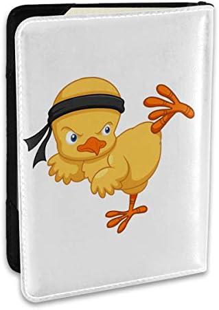 テコンドーのひな パスポートケース メンズ レディース パスポートカバー パスポートバッグ ポーチ 6.5インチ PUレザー スキミング防止 安全な海外旅行用 収納ポケット 名刺 クレジットカード 航空券