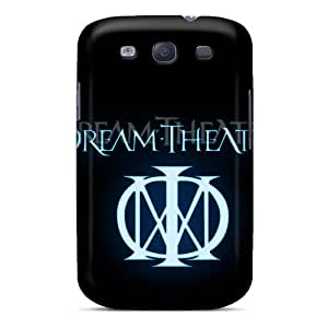 MansourMurray Samsung Galaxy S3 Scratch Resistant Cell-phone Hard Cover Provide Private Custom Beautiful Dream Theater Logo Pattern [vyX9713qJAx]