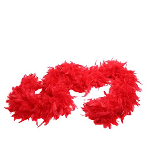 Red Feather Boa Fun Express
