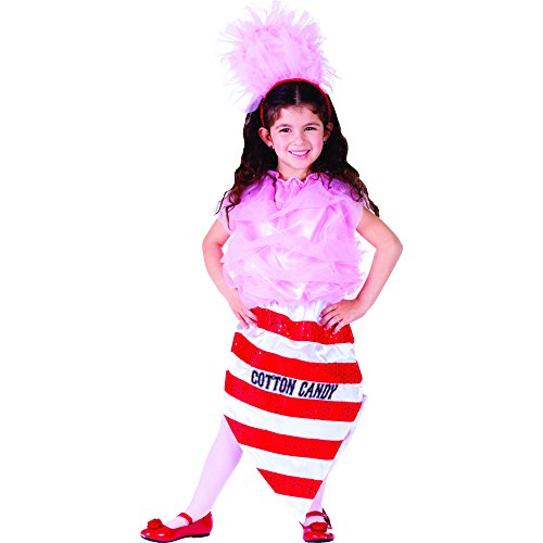 Cotton Candy Halloween Costumes (Cotton Candy Costume - Size Medium 8-10)