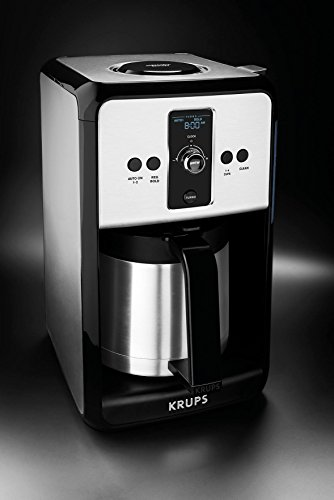 Krups Savoy Turbo 12-Cup Stainless Steel Coffee Maker ET4...