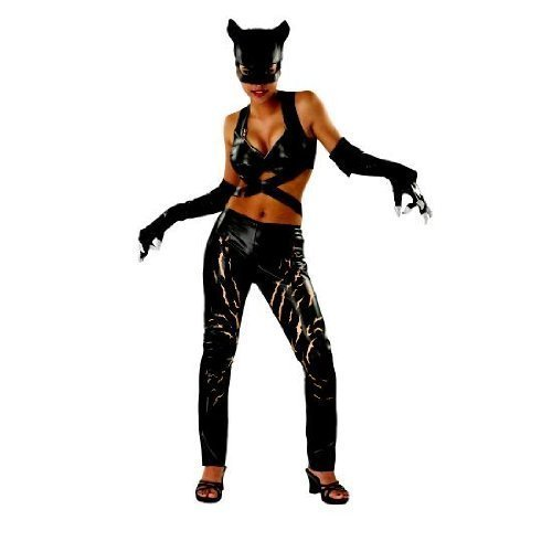 [Catwoman Deluxe Adult Costume - Medium] (Adult Classic Catwoman Costumes)