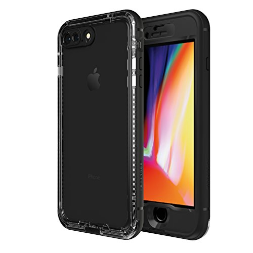 LifeProof NÜÜD SERIES Waterproof Case for iPhone 8 Plus (ONLY) - Retail Packaging - BLACK (Nuud Iphone 5 Case)