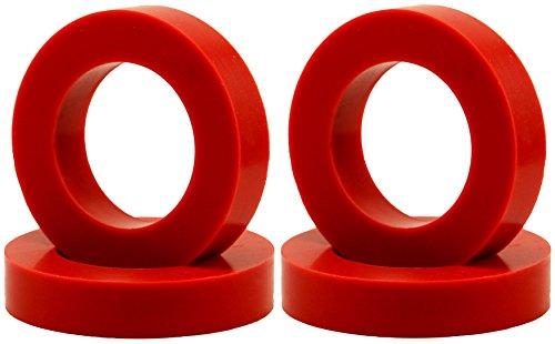"""(Eurotubes """"EuroDamper"""" Tube Damper Rings for Octal Base Power and Rectifier Tubes. Set of 4.)"""