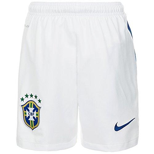 2014-15 Brazil Nike Away Shorts (White) supplier