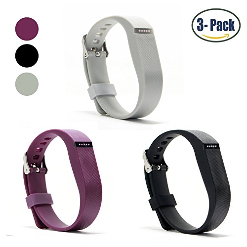 Hotodeal-Replacement-Bands-for-Fitbit-Flex-Fashion-Silicone-Wristband-Accessory-Colorful-Band-Design-with-Adjustable-Metal-Clasp-Prevent-Tracker-Falling-Off-Cute-Patterns-Comfortable-Pack-of-3