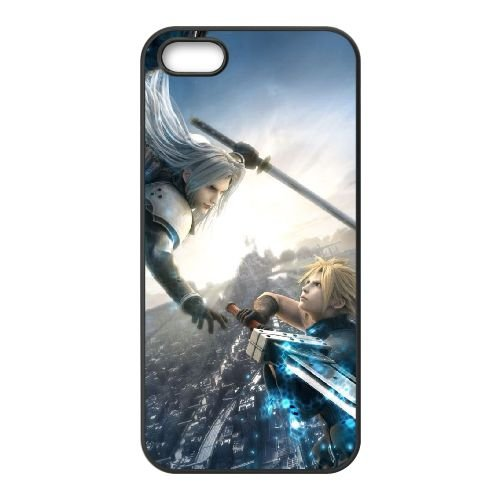 Final Fantasy 023 coque iPhone 4 4S Housse téléphone Noir de couverture de cas coque EOKXLLNCD10822