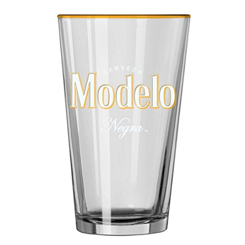 Modelo Negra Pint Glass