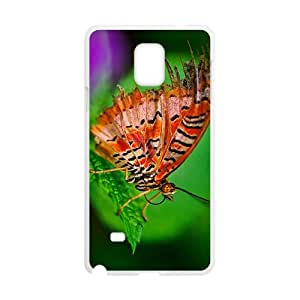 The Butterfly Hight Quality Plastic Case for Samsung Note4