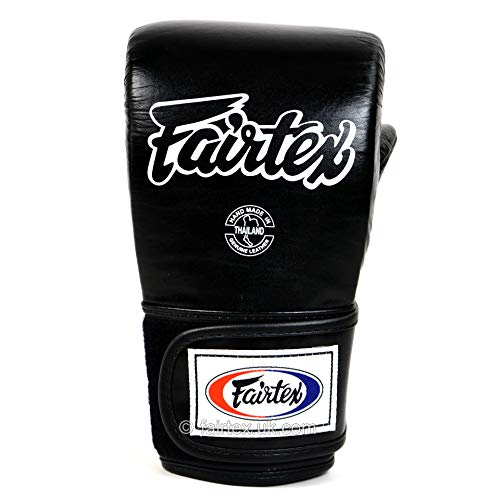 Fairtex TGT7 Cross-Trainer Bag Gloves (Black, L) JC Fairtex