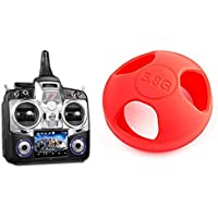Walkera Devo Receiver Compatible Models [QTY: 1] Devo F7 Transmitter Controller Remote Control [QTY: 1] Mushroom Antenna Protective Jacket Red KingKong Universal Version 5.8Ghz Protector