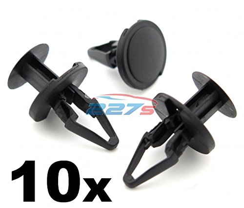 10x Clips For Vauxhall Astra Front Wheel Arch Wing Lining Splashguard Plastic