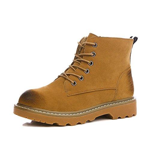 [RSWHYY] レディース ブーツ 靴 ブリティッシュ マーチンタイプ ドクターマーチン 厚手 ショート 無地
