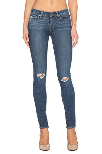 Paige Transcend Verdugo Ultra Skinny Jeans, Quinnley Destructed, 27