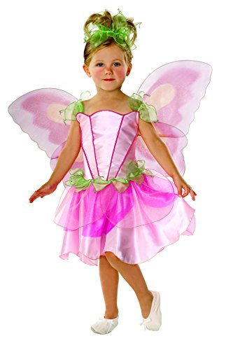 Rubies Costume Co. Let's Pretend Child's Springtime Fairy Costume with Wings, Toddler (Ages 1 to 2)