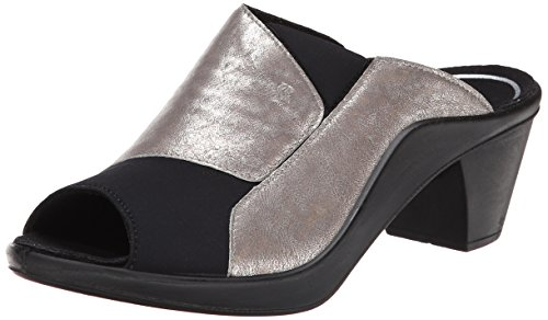 Platino Leather Footwear - Romika Women's Mokassetta 244 dress Sandal, Platino, 39 EU/8-8.5 M US