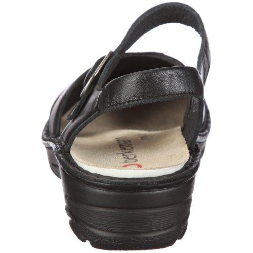 Berkemann Aventin Birthe 03417-725 - Sandalias de vestir para mujer Negro