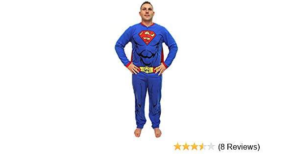 DC Comics Superman Muscle Adult Costume Union Suit with Cape