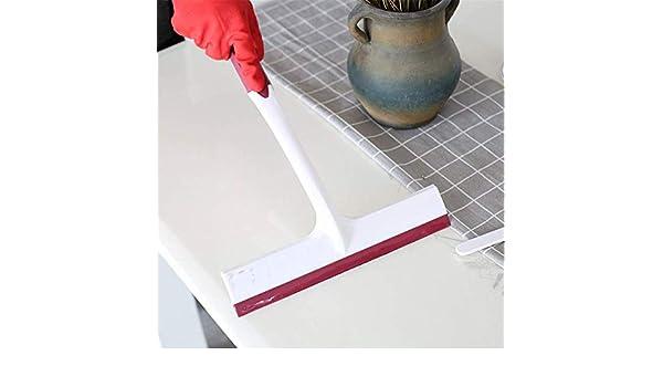 FGHCHMY Limpiacristales Limpiacristales de silicona Limpiacristales Limpiacristales Limpiacristales Raspador de mesa Limpieza Herramientas de baño Escurridor para ventanas, vidrio, espejos, parabrisas (Color: azul): Amazon.es: Hogar