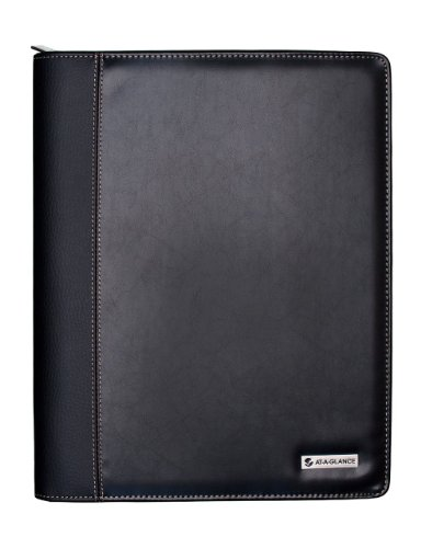 (AT-A-GLANCE Executive Weekly/Monthly Appointment Book, 8 x 11 Inches, Black, 2011 (70-NX81-05))