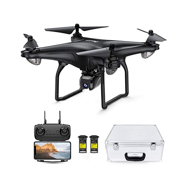 Potensic D58, FPV Drone with 1080P Camera, 5G WiFi HD Live Video, GPS Auto Return,...
