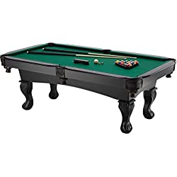 Fat Cat Kansas 7-Foot Billiard/Pool Game Table with Eagle Claw and Ball Legs