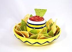 Sombrero Chip & Dip Bowl