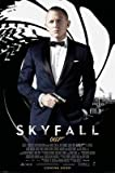 James Bond Skyfall - Credits Movie Poster