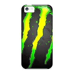 Defender Case With Nice Appearance (monster Hd) For Iphone 5c