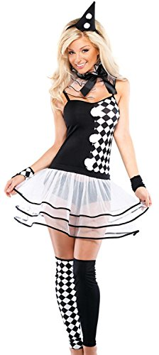Costumes Ballroom Uk (IF FEEL Womens Halloween Costume Party Queen Princess Role Play Costume Sets (One Size,)