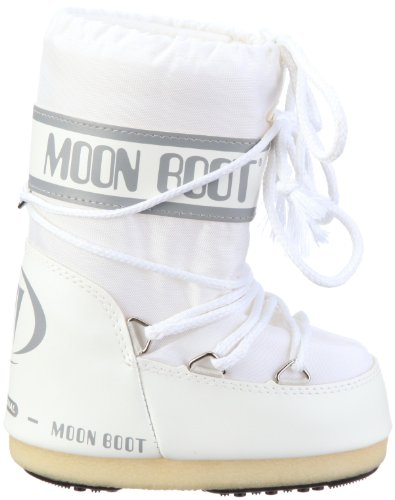 Moon Boot 14004400, Botas de Nieve Unisex Adulto Blanco