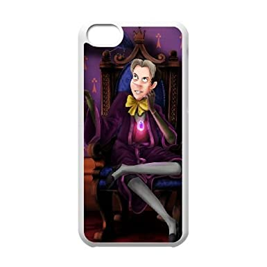 Iphone 5c Cell Phone Case White Disney Sofia The First Character Cedric The Sorcerer Xbef Amazon Co Uk Electronics