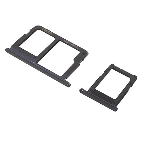 Goliton Dual SIM Card Tray Holder Replacement for Samsung Galaxy J5 Prime J7 Prime (Black)