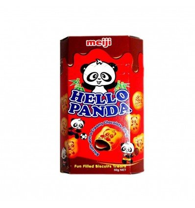 Meiji Hello Panda Chocolate Biscuits 50gm x 10