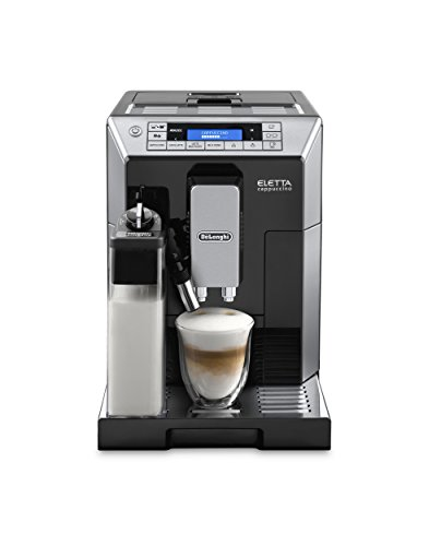 Delonghi ECAM45760B Digital Super Automatic Espresso Machine with Latte Crema System, Black ()