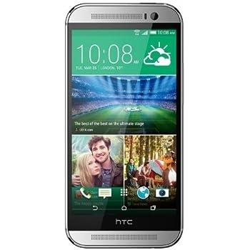 HTC One M8 32GB Unlocked GSM 4G LTE Quad-Core Smartphone - Glacial Silver