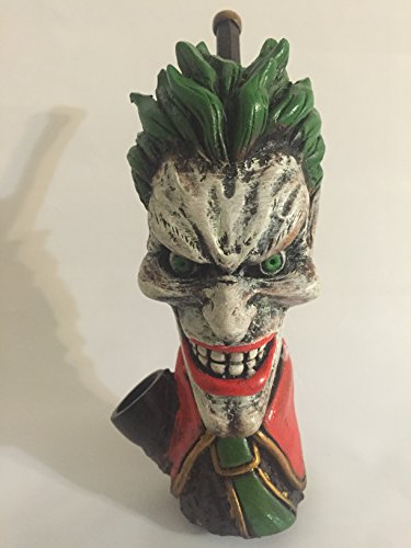 Handmade Tobacco Pipe, Ledger Joker Design