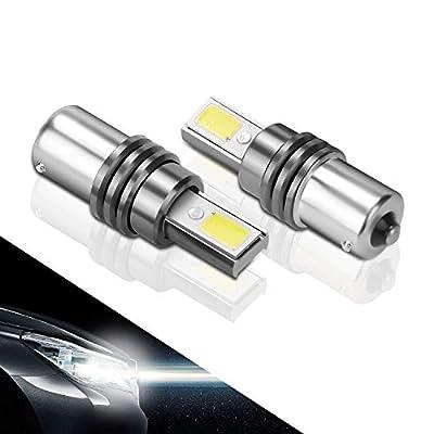 1156 LED Bulb High Power White Super Bright 800Lumens 1141 1003 7506 BA15S Auto RV Tractor Light Bulbs Replacement 6000K 12V: Automotive