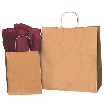 14u0026quot; X 10u0026quot; X 15 1/2u0026quot; Kraft Shopping Bag (BGS107K