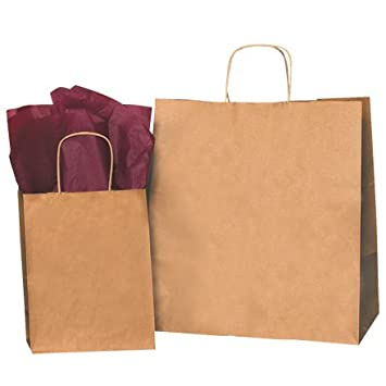 Amazon.com: Paper Shopping Bags, 18