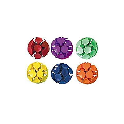 Suction Cup Bounce Balls | Party Favor | Ct. 6: Childrens Party Favor Sets: Kitchen & Dining
