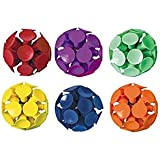 Amscan Funny Suction Cup Bounce Balls Party Toy Favour and Prize Giveaway, 45mm, Pack of 6.