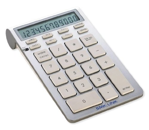 SMK-Link Bluetooth Calculator Keypad for Mac and PC-VP6273