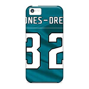 Premium Jacksonville Jaguars Back Cover Snap On Case For Iphone 5c