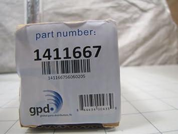 Mundial GPD 1411667 a/c receptor secador para Acura RDX Honda Accord y Civic Fit nueva: Amazon.es: Hogar