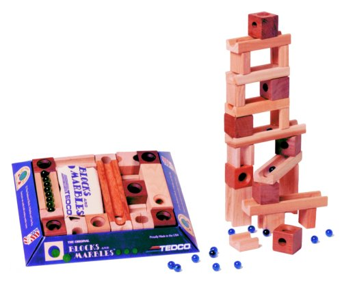 Blocks & Marbles Standard Set by TEDCO B000FGKI2E