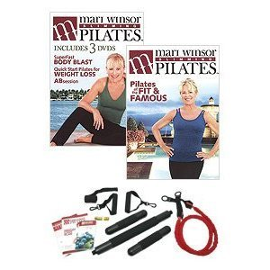 Mari Winsor's Slimming Pilates Kit: Basic (Windsor Chair Kit)