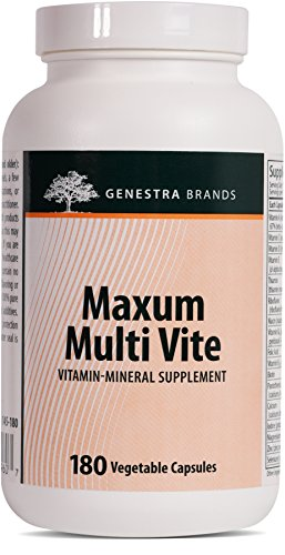Genestra Brands - Maxum Multi Vite - Multi Vitamin Mineral Formulation with Rutin, CoQ10 and Green Tea Extract - 180 Capsules by Genestra Brands